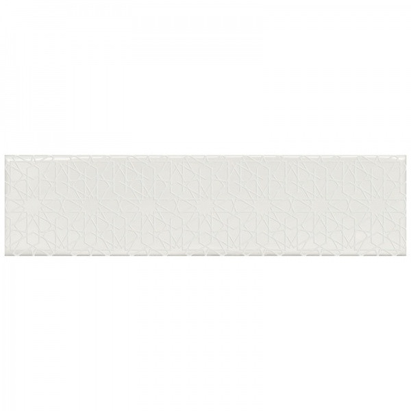 Плитка, FLORENCIA DECOR SUPER BLANCO 7,5x30