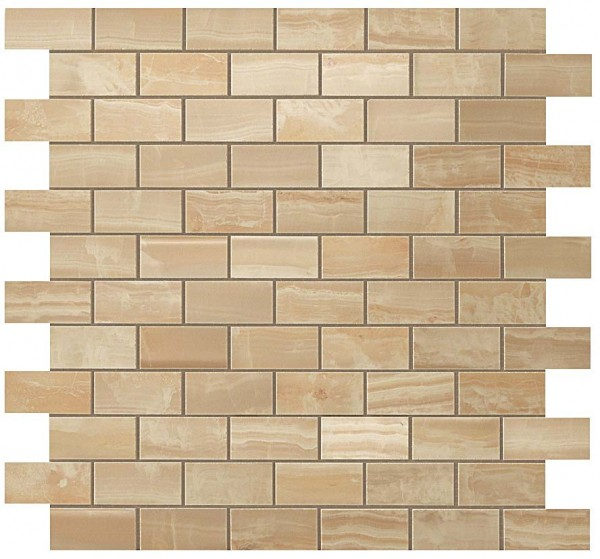 Мозаика S.O. Royal Gold Brick Mosaic 30,5*30,5 Глянeц